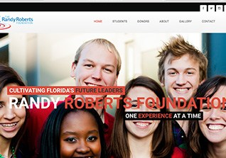 Randy Roberts Foundation Web Design