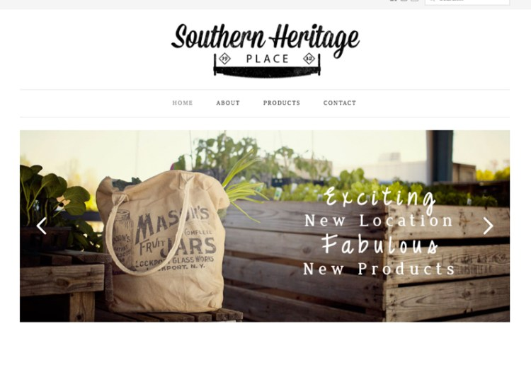 Southern Heritage Web Design