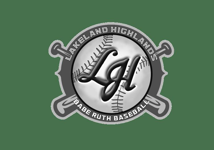 Lakeland Highlands Babe Ruth Baseball Logo