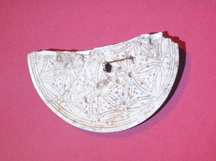 Ivory spindle whorl from Cyprus