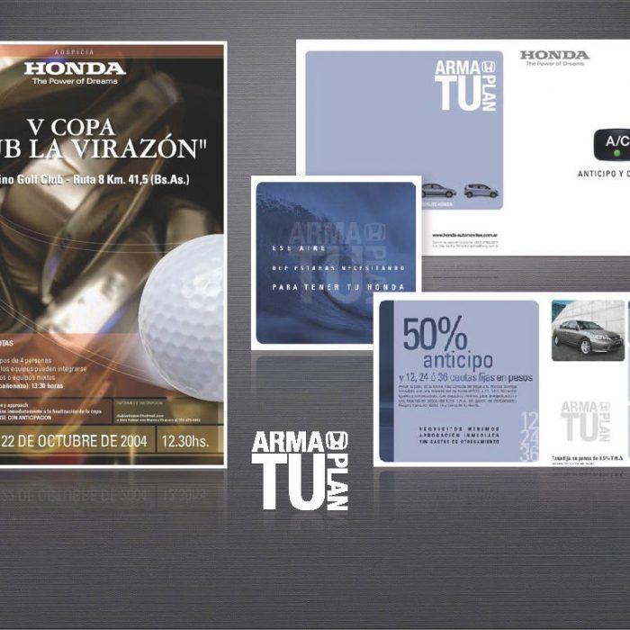 Honda Folleto + Poster interior