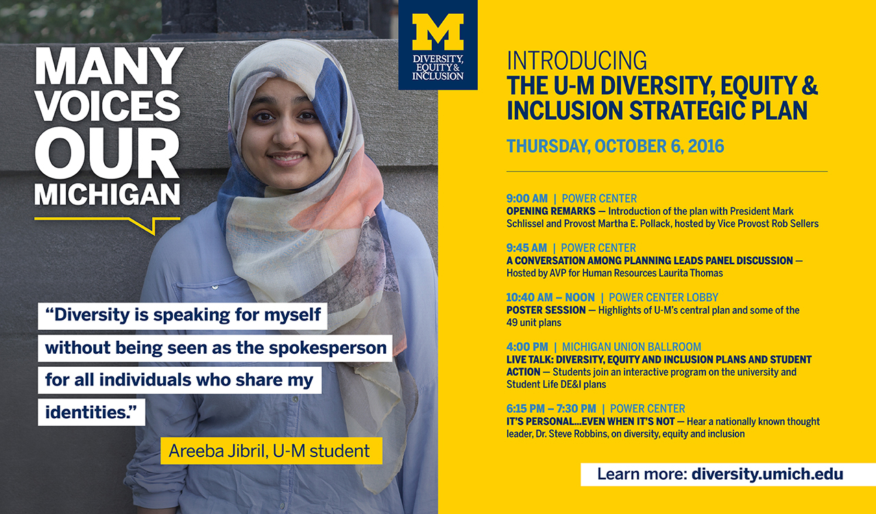 Diversity Equity Amp Inclusion Promotion Michigan Creative