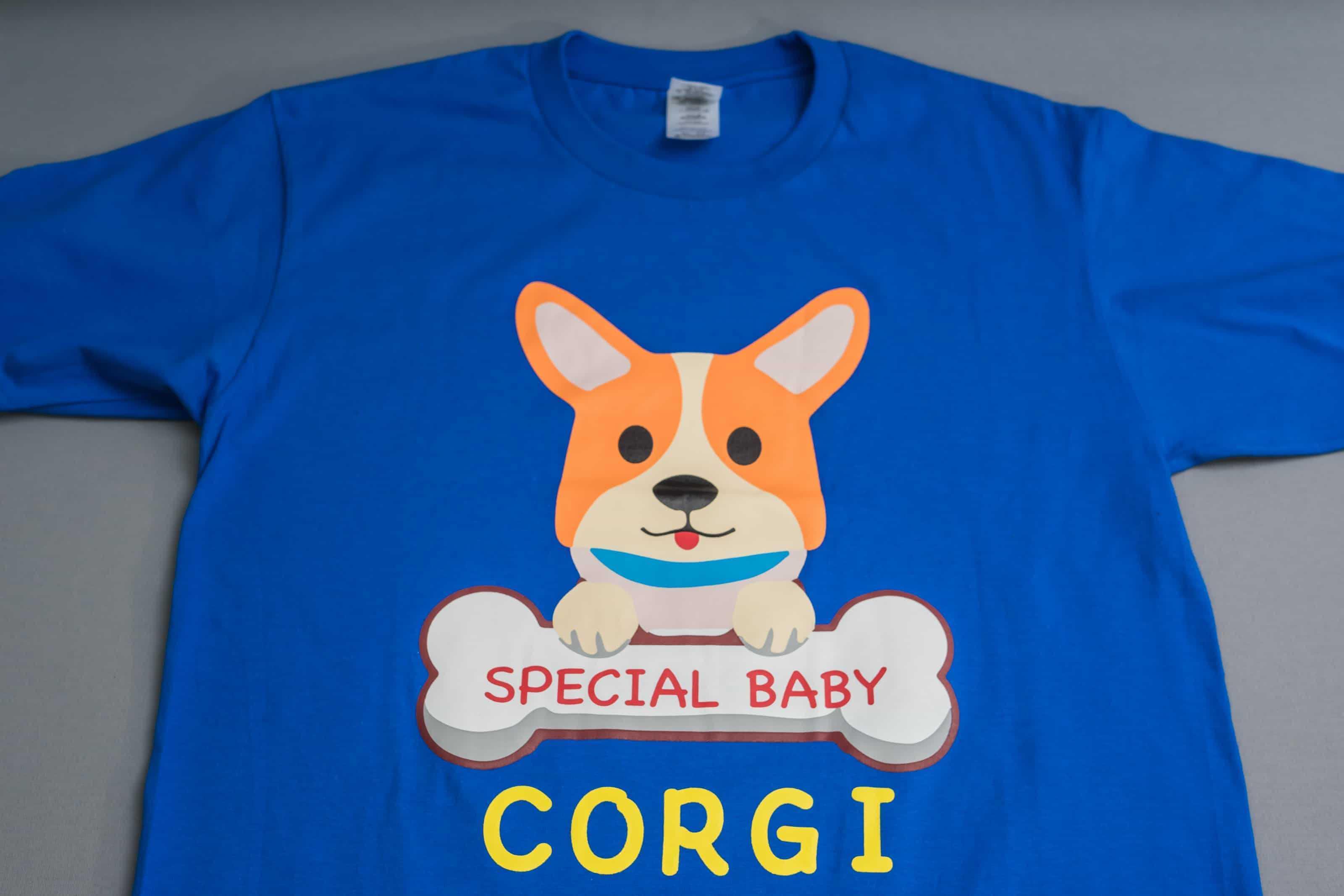 客製化T恤-CORGI 客製狗狗圖案T恤-創八製衣