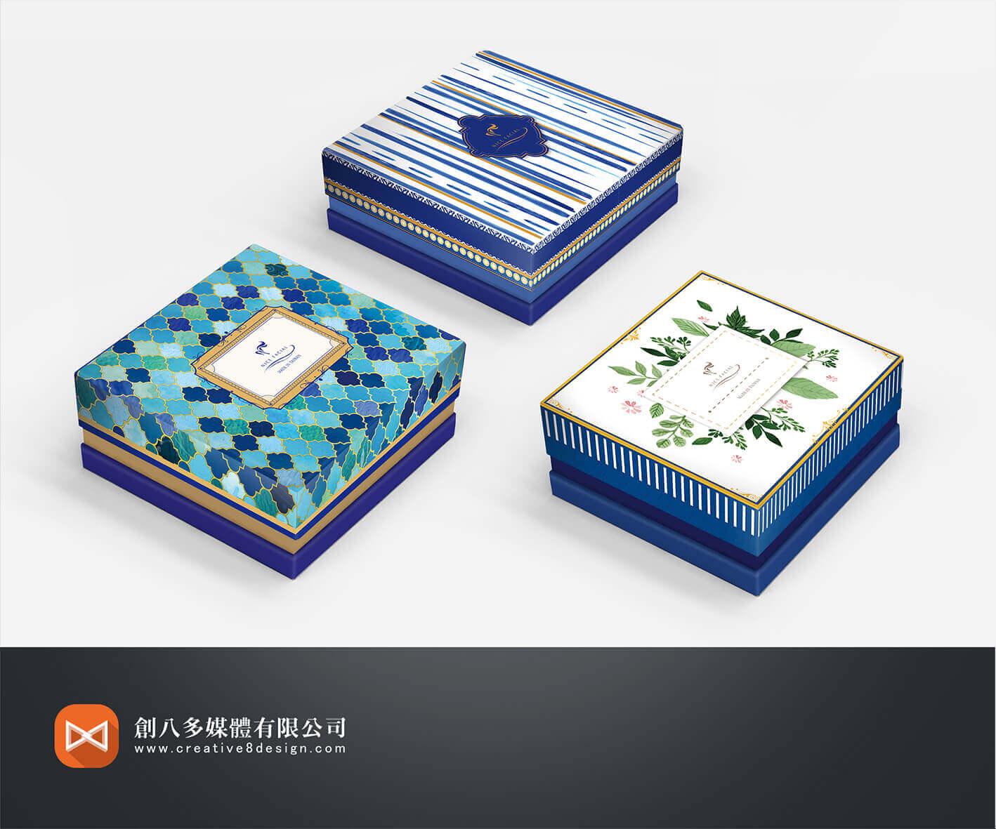 包裝設計作品:NICE FACIAL-禮盒包裝-創八多媒體有限公司