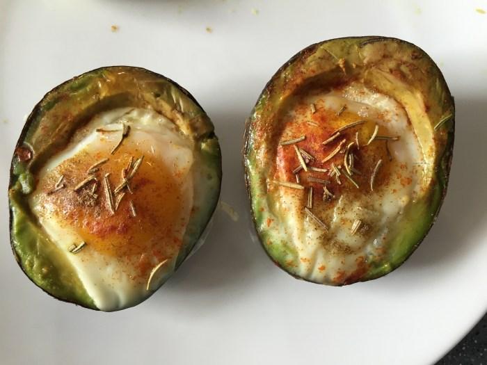 eggs avocado breakfast