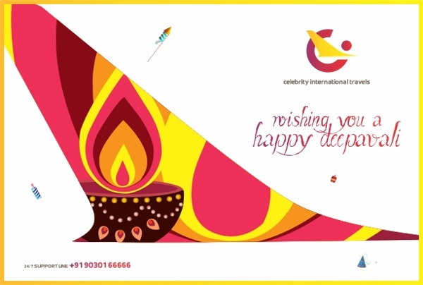 Diwali E-Greeting - Air Travels