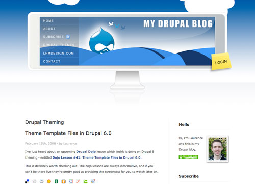 drupal-home-page