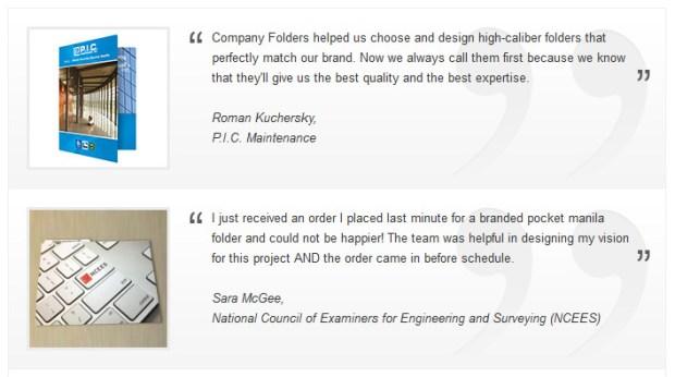 www-companyfolders-com-customer-testimonials