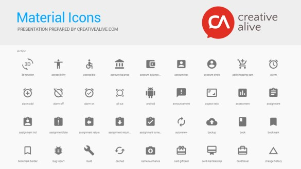PDF Cheat Sheet for Material icons by Google