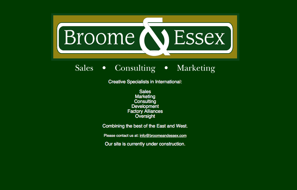 Broome & Essex Consulting