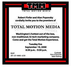 Total Motion Media Invite