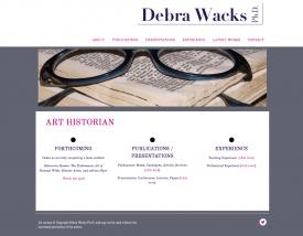 Debra Wacks Ph.D. Art Historian