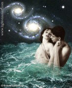 """""""In Love with a Mermaid"""" - photo-illustration."""