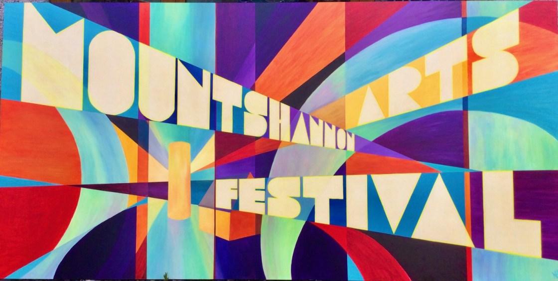 Mountshannon Arts Festival Sign