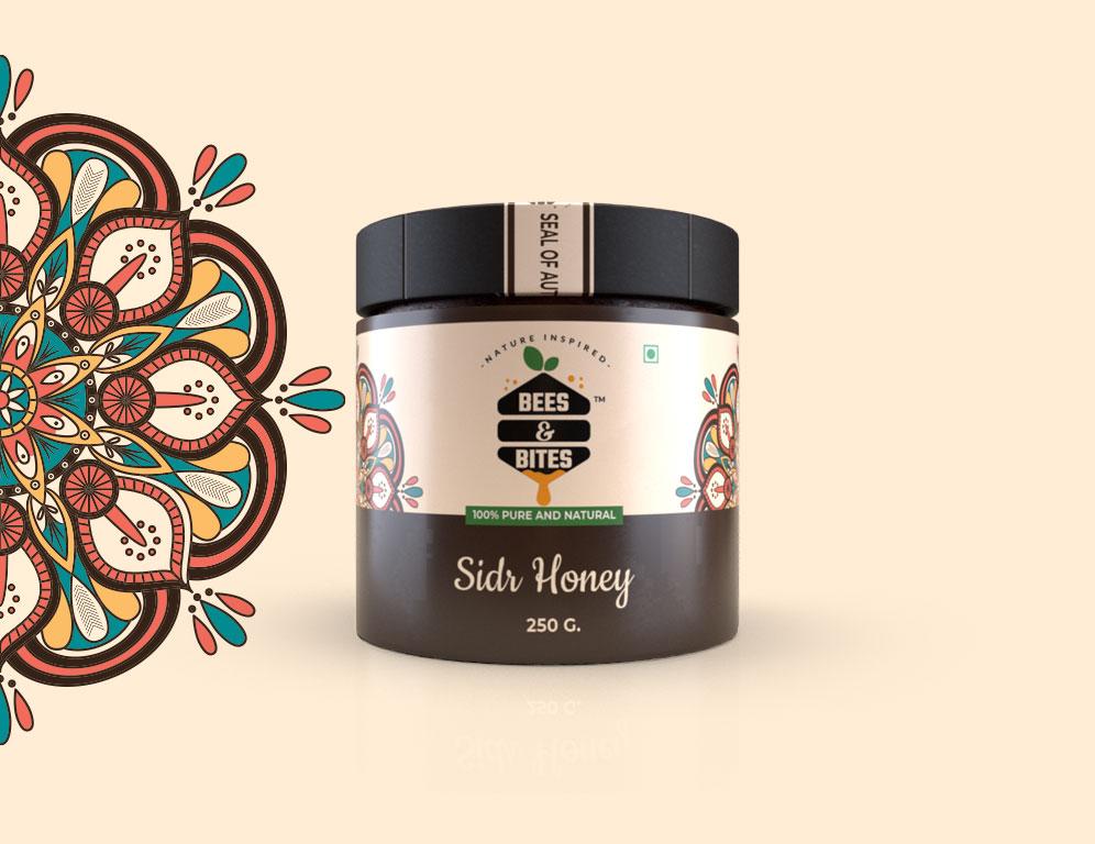 Bees and Bites Honey Branding & Packaging