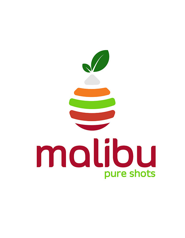 Malibu Juice Bottle Packaging by Creative Banda