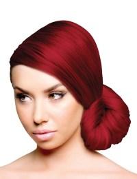 red velvet hair color with black red velvet dress co ...