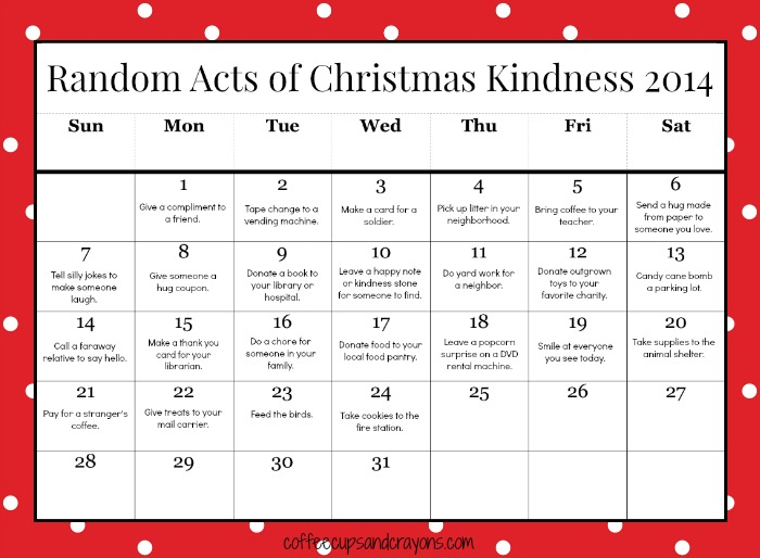 Christmas Kindness - Blog Mom Reviews