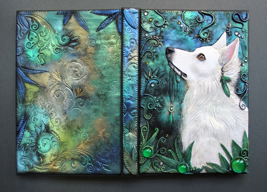 Arte Journal Culture Incredibly Detailed Journal Covers Crafted Entirely From
