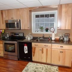 Hickory Kitchen Cabinets Pendant Lighting Fixtures Custom