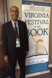 Dr. Sawyer at 2016 VA Festival of the Book