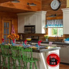 Cabin Kitchen Decor How Much Does A Sink Cost My Web Value Log Home In Fall