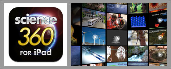 Science360 for iPad