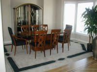 dining room area rug | Creative Carpet Designs
