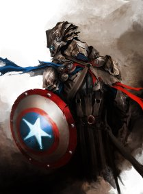 The Avengers - Captain America by Daniel Kamarudin