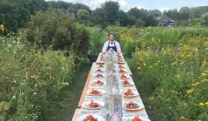 Botanical dinner with Lowlander beers!
