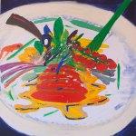 Beef-n-Flowers 2015 Painting