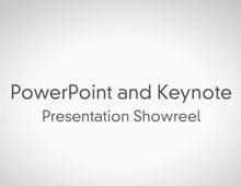 PowerPoint & Keynote Presentation Showreel