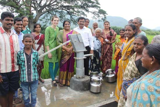 Leah's first well dedication was very eye opening!
