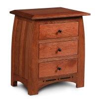 Aspen Three Drawer Nightstand | Creative Classics