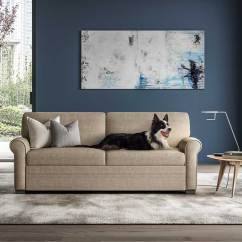 Best Sofas Made In The Usa Ava Teal Sofa Argos Gaines Comfort Sleeper By American Leather | Creative Classics