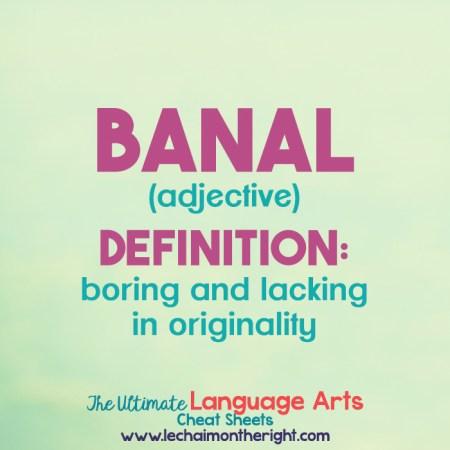 banal