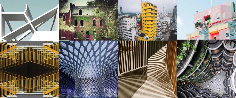 Professionisti e dilettanti condividono foto architettoniche eccezionali su Instagram, come quelle in questo montaggio.