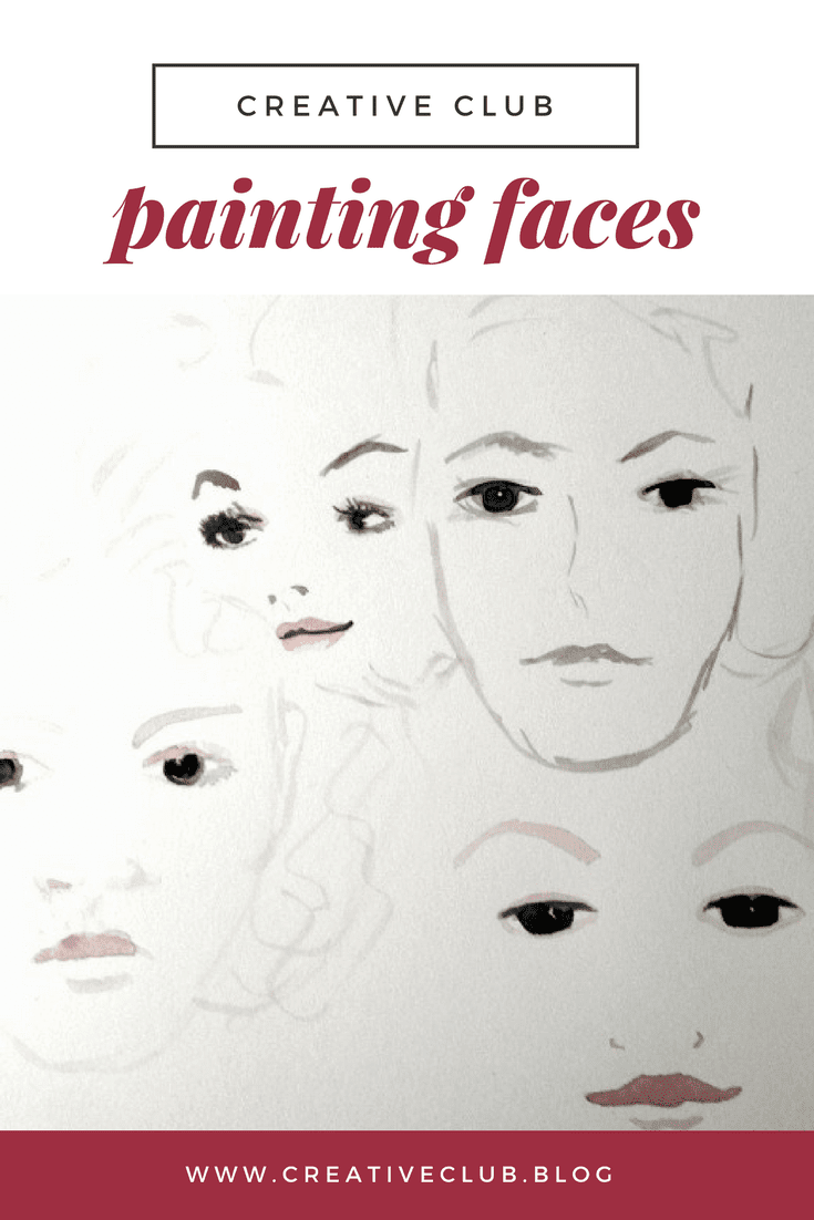 Painting faces creative club