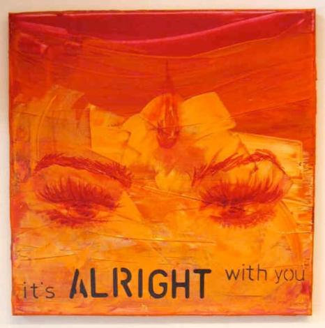 It's alright with you, Acryl auf Leinwand, Dodo Kresse