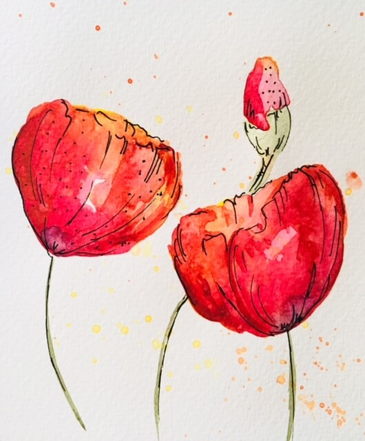 Illustration: Zarter Blütenzauber