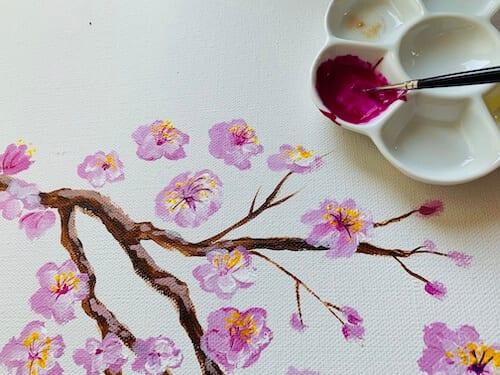 du siehst die Acrylfarbe Purple von Rembrandt