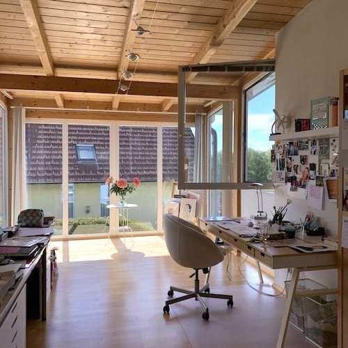 du siehst mein Atelier in der Steiermark