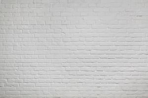 Old white brick wall background texture
