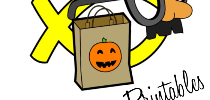Religious Halloween Printables