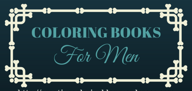 Best Adult Coloring Books for MEN