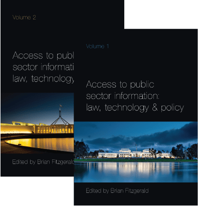 Access to Public Sector Information book covers
