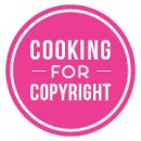 "Fair ""Cooking for copyright"" social media avatar"