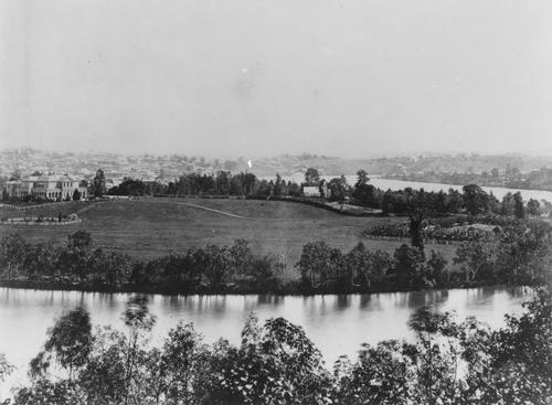 Gardens Point in Brisbane, ca. 1870. Image courtesy of State Library of Queensland.  Link to digital item: http://hdl.handle.net/10462/deriv/110535
