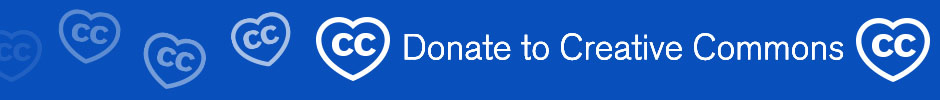 Donate to Creative Commons fundraising campaign 2014: http://donate.creativecommons.org/