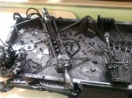 A community arts project from Maryhurst based on Louise Nevelson's piece in the Kentucky Center's lobby.